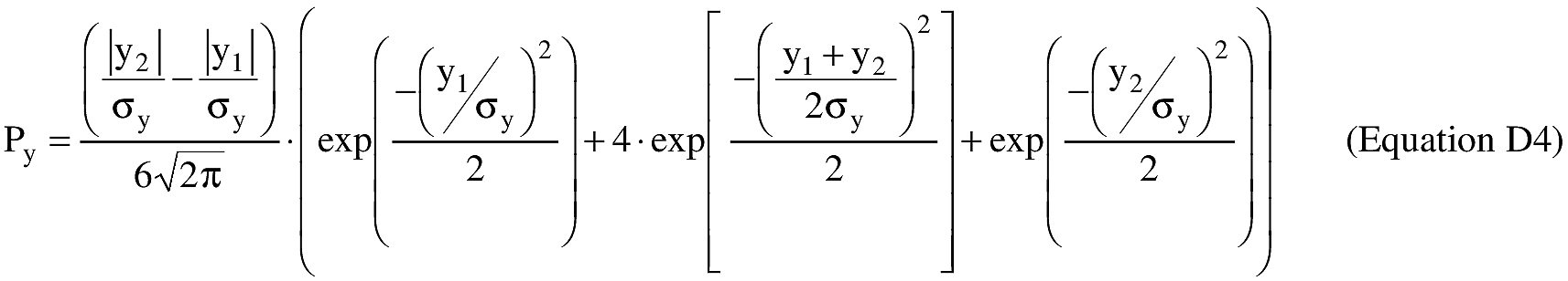 Equation for exp = exponential function (ex)