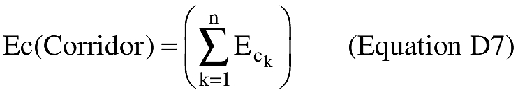 Equation for (vii) An applicant shall estimate the total risk using the following summation of risk