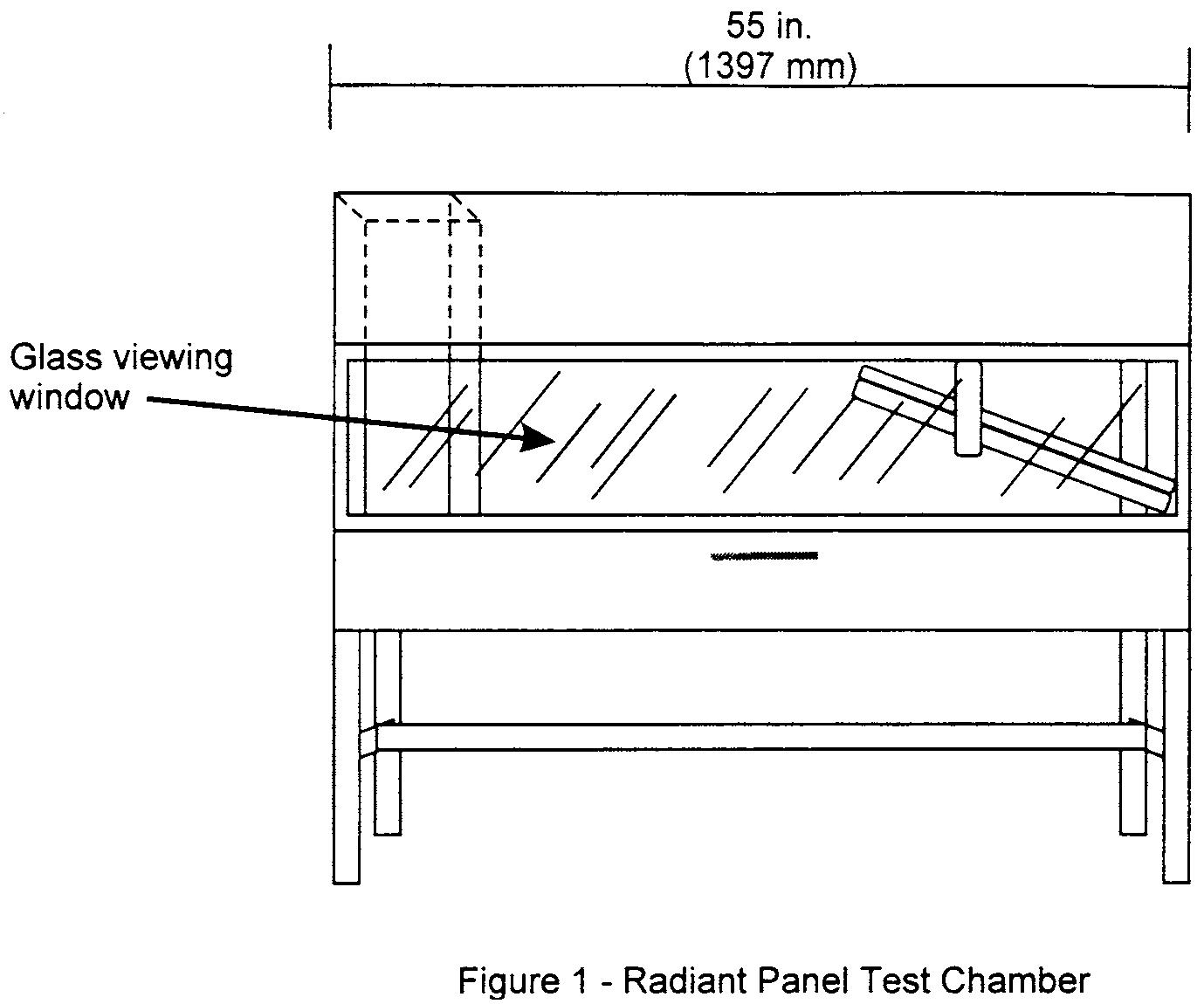 Graphic of (b) Test apparatus.